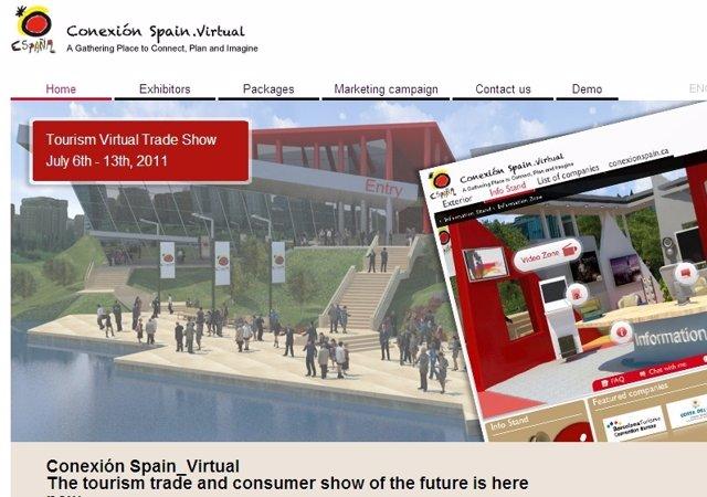 Feria Virtual De Turismo Español En Canadá Y EE.UU.