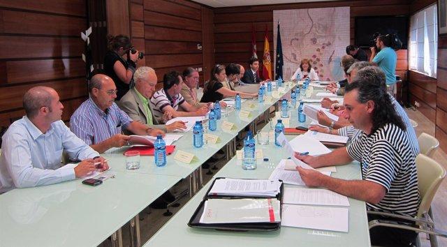 Reunión De La Mesa De La Patata Presidida Por María Jesús Pascual