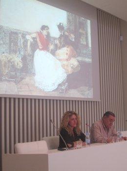 Moreno Y Rojo, Durante La Presentación Del Ciclo