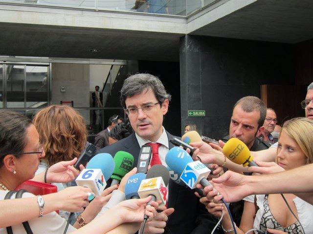El Consejero De Educación Del Gobierno Navarro, José Iribas.