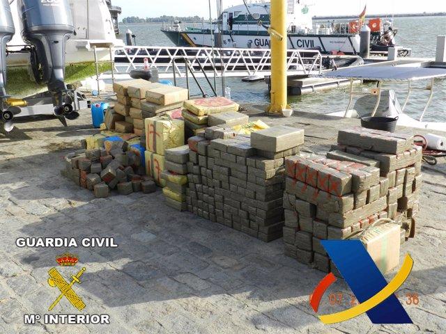 Droga Incautada En Huelva