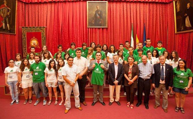 Alumnos Del Campus Científico De La Universidad De Sevilla