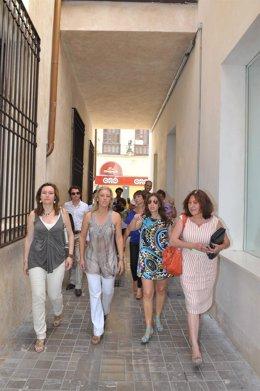 Las Concejalas De Promoción Empresarial, Turismo, Centro Y Medio Ambiente