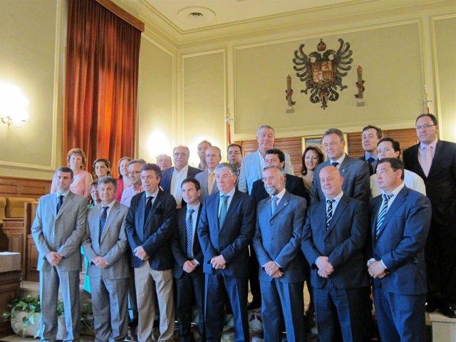 Corporación Provincial Toledana, En El Último Pleno