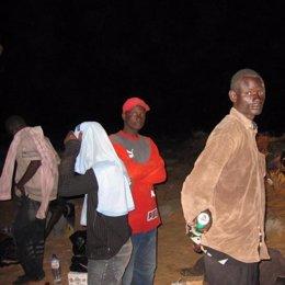 Imagen inmigrantes subsaharianos