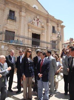 La Infanta Doña Elena En Su Visita A Lorca