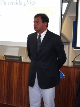 El Conselleiro De Economía, Javier Guerra.