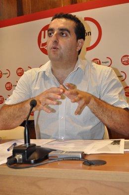 El Secretario General De UPA-Aragón, José Manuel Roche.