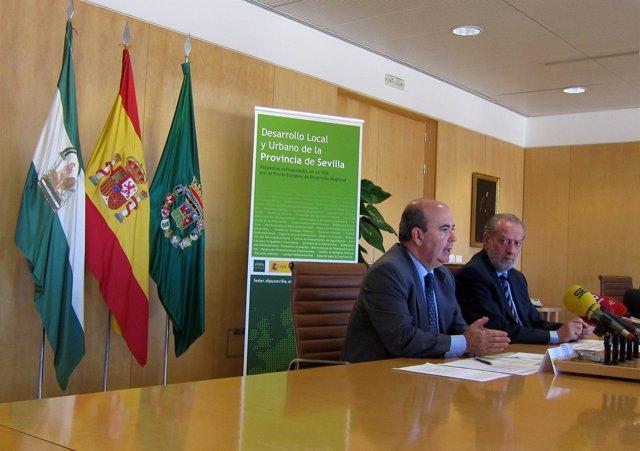 Zarrías Y Rodríguez Villalobos En La Presentación De Los Fondos