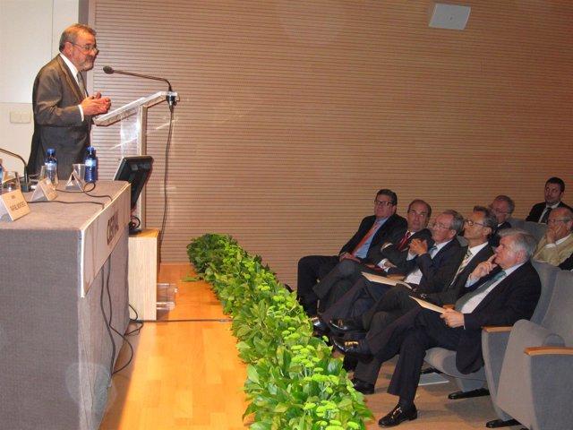 González Interviene Como Nuevo Presidente De Cierval En Presencia De Ferrando.