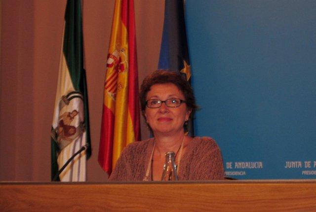 La Consejera De Hacienda Y Adminsitración Pública, Carmen Martínez Aguayo