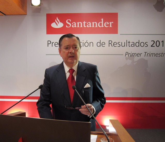 Alfredo Saénz, Consejero Delegado De Banco Santander