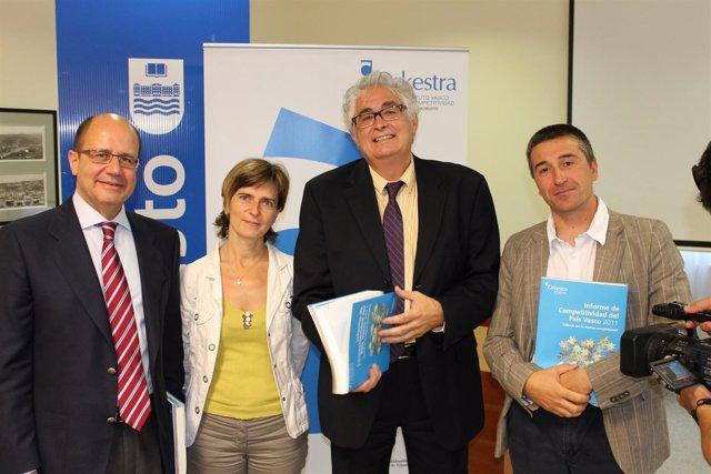 Representantes Del Instituto Vasco De Competitividad.