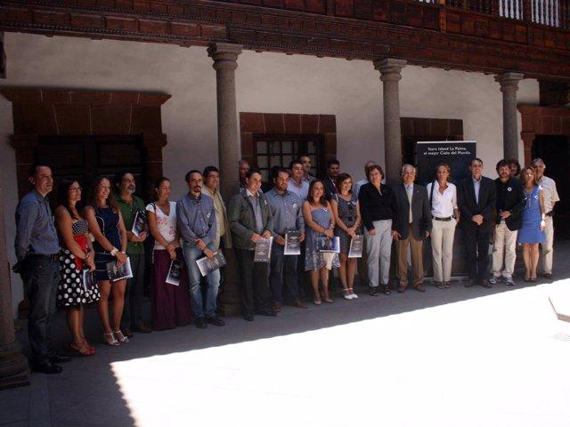 Cabildo De La Palma E IAC Concluyen La Formación De 14 Guías Especializados En E