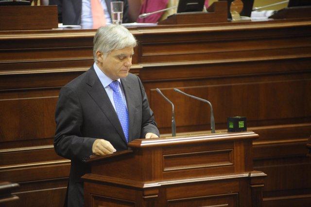 José Miguel Pérez asiste Al Pleno De Investidura Del Presidente Del Gobierno