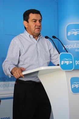 José Loaiza, Presidente Del PP En Cádiz
