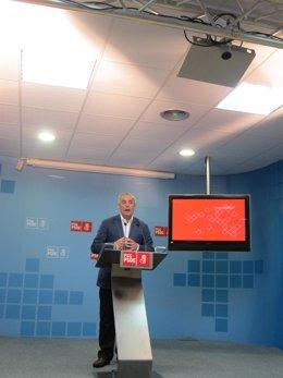 Manuel 'Pachi' Vázquez En Rueda De Prensa