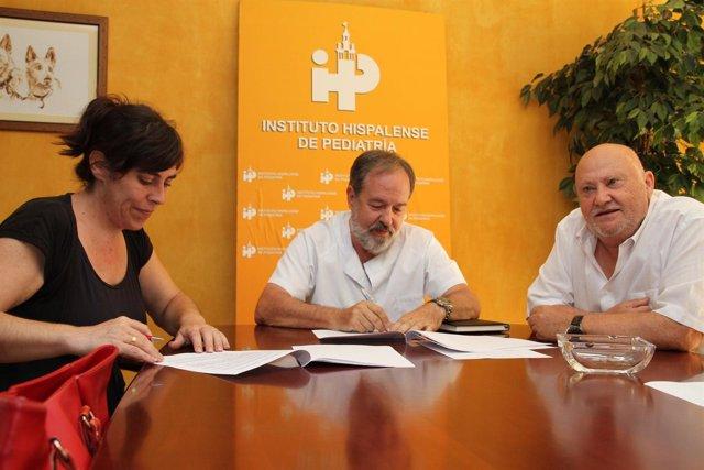 Firma Del Acuerdo Entre El IHP Y La ASPATHI