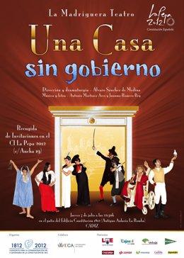 Cartel De La Obra Teatral 'Una Casa Sin Gobierno'