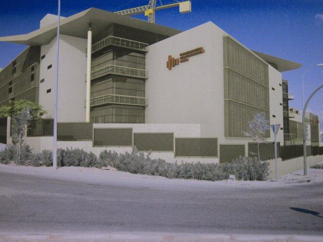 Recreación Del Futuro Centro De Formación De La Construcción
