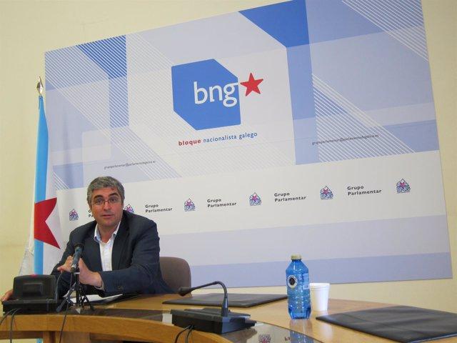 Carlos Aymerich, Portavoz Del Grupo Del BNG
