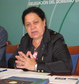 La Delegada De Economía, Innovación Y Ciencia, Manuela De Paz.