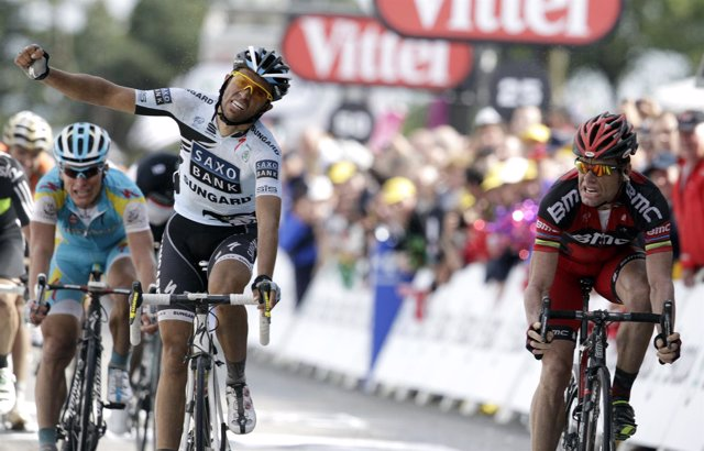 Contador Se Lamenta Tras Perder La Cuarta Etapa Del Tour 2010 Con Evans