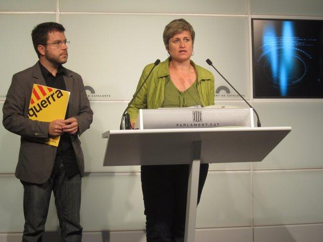 La Portavoz De ERC, Anna Simò