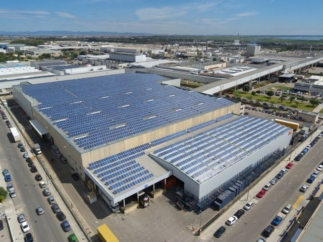 Parque Solar Fotovoltaico De IM2 En Almussafes