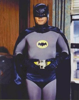 Adam West En Batman