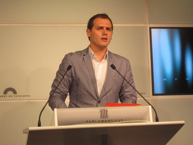 El Presidente De C'S, Albert Rivera