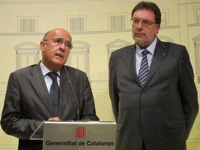 Boi Ruiz Y Josep Lluís Cleries