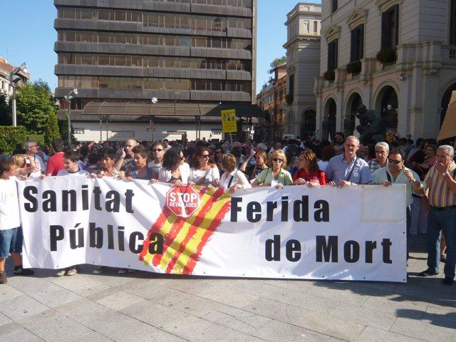 La Manifestación En Sabadell