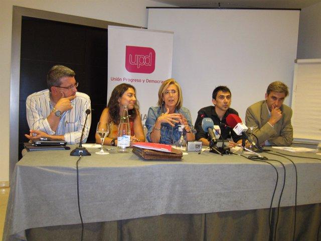 Rosa Díez En Murcia
