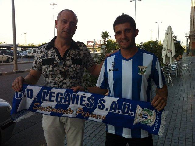 Felipe Moreno, Máximo Accionista Del Leganés, Con Víctor Fernández