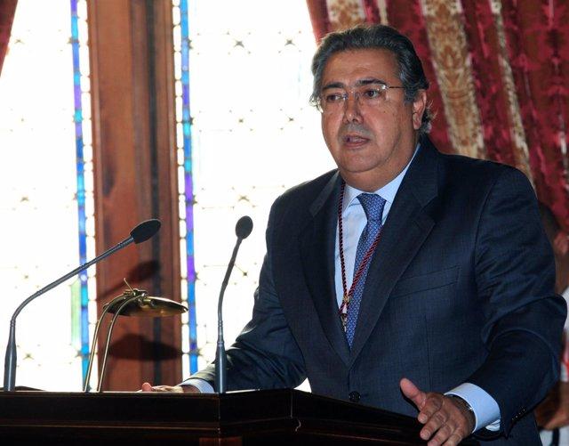 El Alcalde, Juan Ignacio Zoido, Durante Su Discurso De Investidura