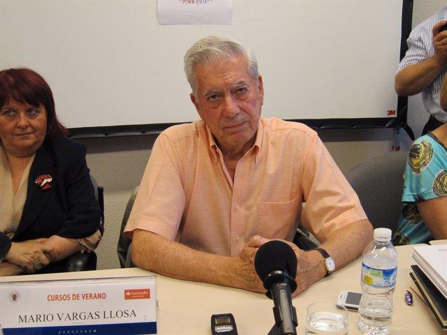 El Nobel De Literatura Mario Vargas Llosa