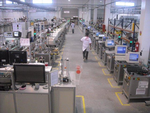 Fábrica de ordenadores