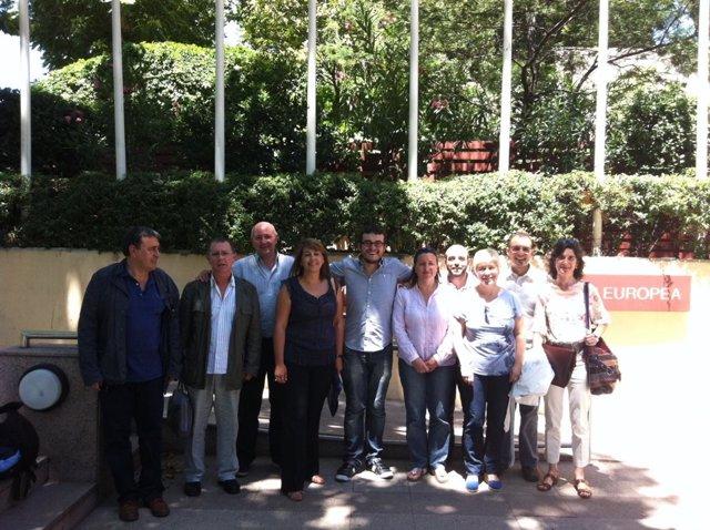 Delegación Gallega En La Reunión Con Expertos De La Carta Europea De Las Lenguas