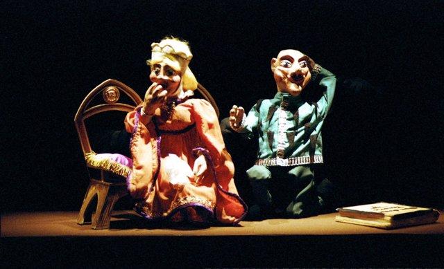 Marionetas 'Caballero Negro'