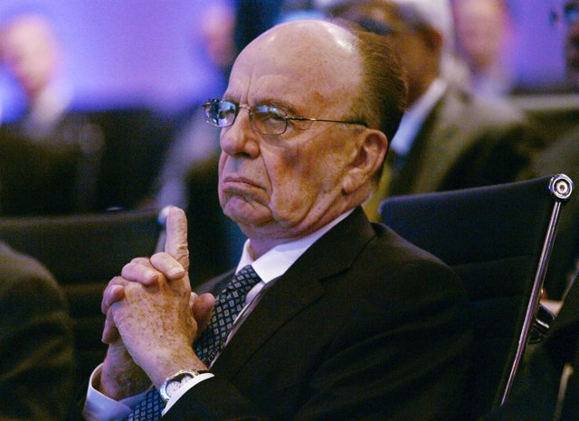 Rupert Murdoch, presidente del conglomerado News Corporation