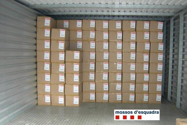 Material Recuperado En El Prat