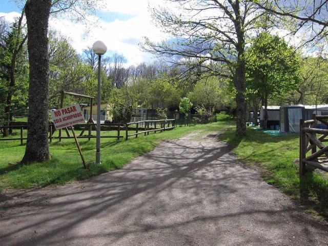 Imagen De Un Camping En Castilla Y León