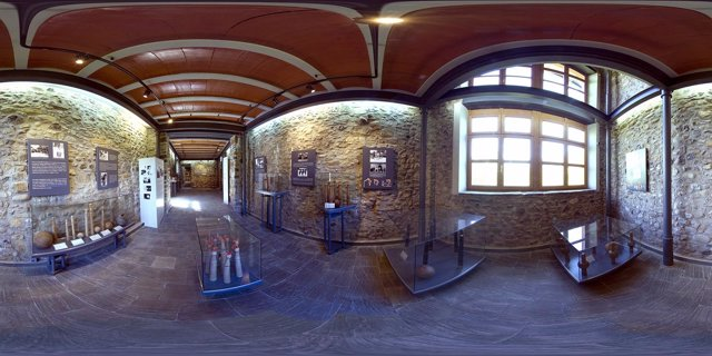 Vista De Una De Las Salas Del Museo De Juegos Tradicionales