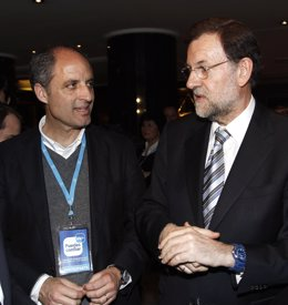 Francisco Camps y Mariano Rajoy