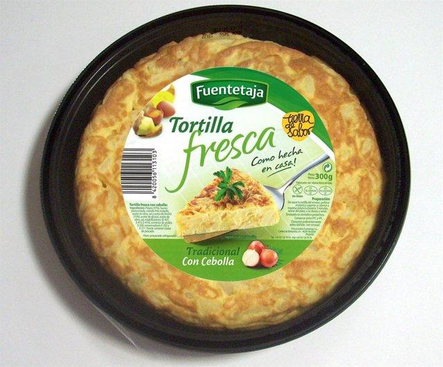 Tortilla Precocinada Elaborada Por La Empresa Segoviana Fuentetaja
