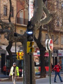 Semáforo Tranvía