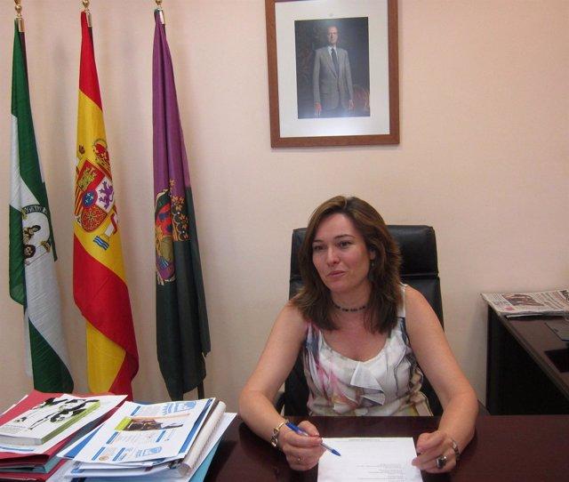 La Concejala De Promoción Empresarial Y Empleo, María Del Mar Martín Rojo