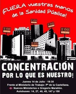 """Concentración Contra El """"Expolio"""" De La Seguridad Social"""