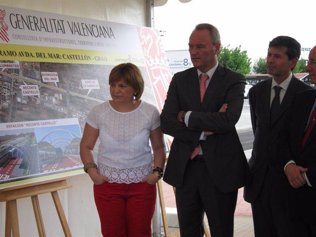 La Conselleria Isabel Bonig En Un Acto En Castellón